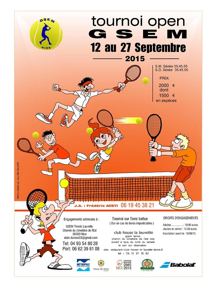 Tournoi Open 2015